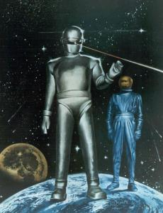 Gort was the strong, silent type. Well, until you took a shot at his mates, anyway.