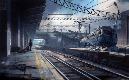 Late for the Train by alexiuss (for Romantically Apocoliptic)