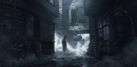 Dark Deeds in London, by kirillart